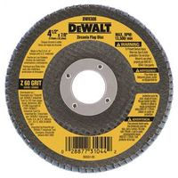 DISC FLAP 4-1/2X7/8IN 60GRIT