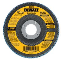 DISC FLAP 4-1/2X7/8IN 120GRIT