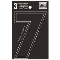 Hy-Ko 30400 Weather Resistant Die Cut Number