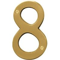 Hy-Ko BR Prestige Weather Resistant House Number