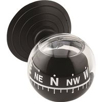 Bell 22-1-00371-8 Liquid Float Ball Compass With Mini Suction Cup