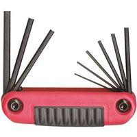 Ergo-Fold 25912 Ergonomic Fold-Up Small Hex Key Set