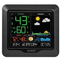 La Crosse 308-146 Wireless Weather Station With USB Charging