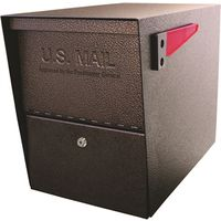 Mail Boss 7208 Packagemaster Curbside Ultimate Locking  Mailbox