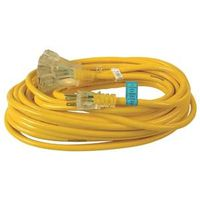 Yellow Jacket 510019 Fantail Outlet SJTW Extension Cord
