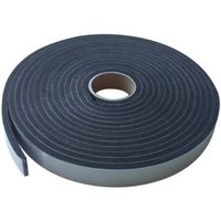 WEATHERSTRIP PREM BLK 3/8X17FT