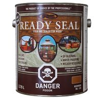 STAIN/SEALER WOOD EXT REDWD 1G