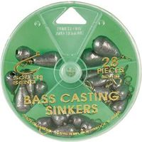 SINKER BASS BASTING ASST 28 PC