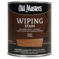 Old Masters 11904 Oil Based Wiping Stain