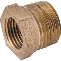 Anderson Metal 738110-0402 Brass Pipe Hex Bushing