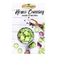 Kent Precision Foods O103-J4255 Mrs. Wages Home Canning Guide