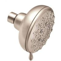 SHOWERHEAD 5SPRAY FIXED NICKEL