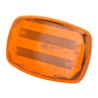 LIGHT SAFETY MAGNETC LED AMBER