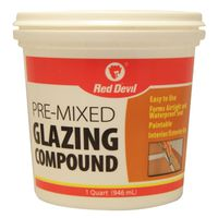 Red Devil 0664 Pre-Mixed Glazing Compound