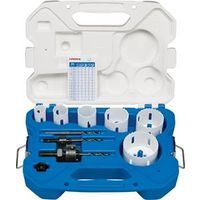 HOLESAW ELECTRICIANS KIT 9PC