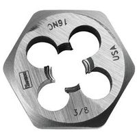 DIE HEXAGON 3/8IN-24NF STEEL
