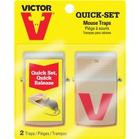 TRAP MOUSE TRAY QUICKSET