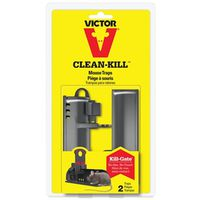 MOUSE TRAP CLEAN-KILL 2PK