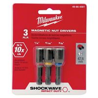 Shockwave 49-66-4561 Magnetic Power Groove Nutsetter Set