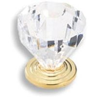 Amerock Traditional Classics 14303CB Crystal Cabinet Knob
