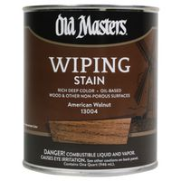 Old Masters 13004 Oil Based Wiping Stain