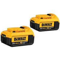 Dewalt DCB204-2 Cordless Tool Batteries
