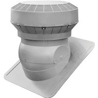 VENT ROOF PRO TURBO GREY 117IN