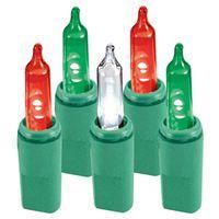 LIGHT ITALIAN 70 LED RD/GR/WHT