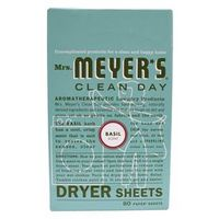 DRYER SHEETS BASIL 80CT