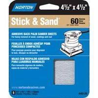 SANDING SHEET 4.5X4.5 60 GRIT
