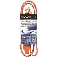 Coleman 0814 SPT-2 3-Outlet Power Tap Extension Cord