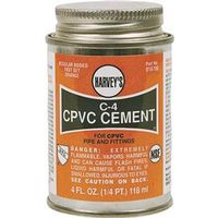 Harvey's 018720-12 C-4 CPVC Cement