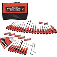 North American Tool 52344 Screwdriver/Nutdriver Set