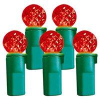 LIGHT G12 LED RED 70CT