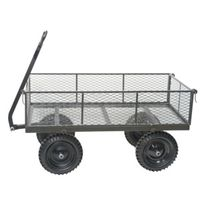 CART YARD 1200# GRAY FLAT FREE