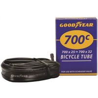 TUBE BIKE 700 X25-32C BLACK
