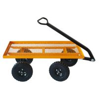 CART FLATBED 600# YELLOW