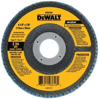 DeWalt DW8300 Coated Type 27 Flap Disc With Hub