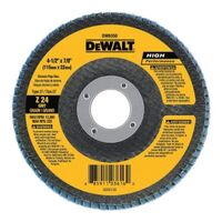 DeWalt DW8353 Coated Type 27 Flap Disc With Hub