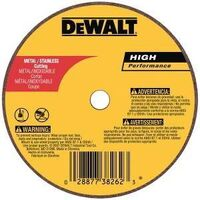 DeWalt DW8705 Type 1 Cut-Off Wheel