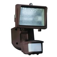 Designers Edge L-6006BR Single Head Motion Activated Flood Light