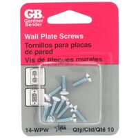GB 14-WPW Flat Head Wall Plate Screw Kit