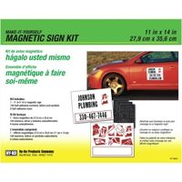 Hy-Ko KIT-MAG1 Magnetic Sign Kit
