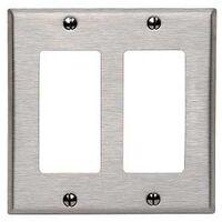 Leviton 000-84409-040 2-Decora/GFCI Wall Plate