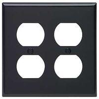 Leviton 005-80716-00E 2-Duplex Receptacle Wall Plate