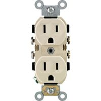 Leviton S01-0BR15-0IS Narrow Body  Duplex Receptacle