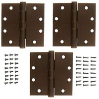 National Hardware S820-704 Square Corner Door Hinge