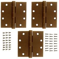 National Hardware S820-845 Square Corner Door Hinge
