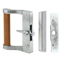 Prime-Line C 1023 Door Handle Set With Hook-Style Latch