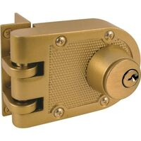 Prime-Line U 9972 Double Cylinder Jimmy-Proof Deadlock